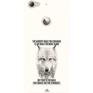 Snooky Printed 1039,lone wolf Mobile Back Cover of Letv Le 1S - Multi