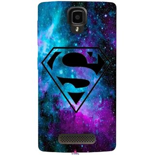Snooky Printed 1099,Superman Fondos Mobile Back Cover of Lenovo A1000 - Multi