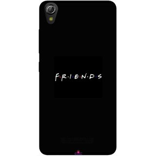 Snooky Printed 998,Friends Mobile Back Cover of Gionee Pioneer P5W - Multi