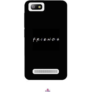 Snooky Printed 998,Friends Mobile Back Cover of Lava Flair P3 - Multi