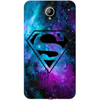 Snooky Printed 1099,Superman Fondos Mobile Back Cover of LYF Flame 2 - Multi