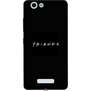 Snooky Printed 998,Friends Mobile Back Cover of Gionee S Plus - Multi