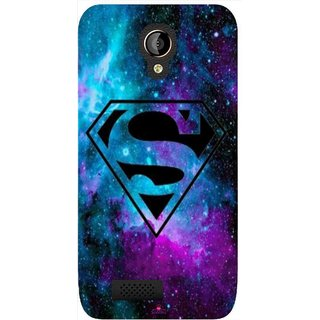 Snooky Printed 1099,Superman Fondos Mobile Back Cover of LYF Flame 6 - Multi
