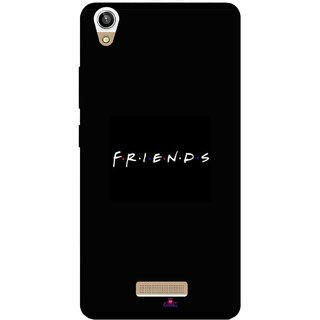 Snooky Printed 998,Friends Mobile Back Cover of Lva X9 - Multi
