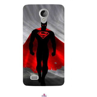Snooky Printed 1098,Super Man Mobile Back Cover of Vivo Y21 - Multi