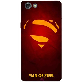 Snooky Printed 1048,Man Of Steel Supper Man Mobile Back Cover of Opo Neo 7 - Multi