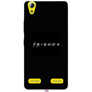 Snooky Printed 998,Friends Mobile Back Cover of Lenovo A6000 Plus - Multi