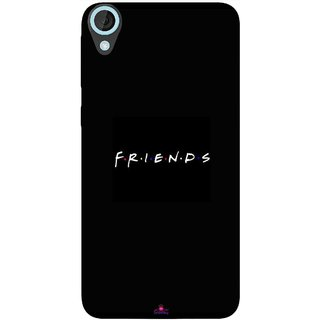 Snooky Printed 998,Friends Mobile Back Cover of HTC Desire 820 - Multi