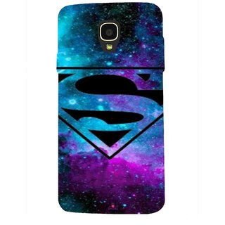Snooky Printed 1099,Superman Fondos Mobile Back Cover of Micromax Bolt Q325 - Multi