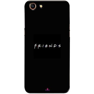 Snooky Printed 998,Friends Mobile Back Cover of Oppo A83 - Multi