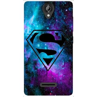 Snooky Printed 1099,Superman Fondos Mobile Back Cover of Micromax Bolt Q332 - Multi