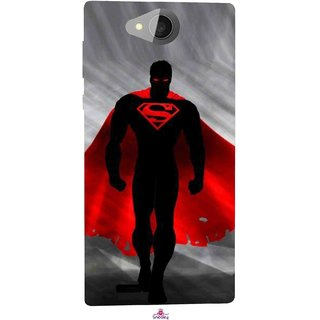 Snooky Printed 1098,Super Man Mobile Back Cover of Xolo Prime - Multi