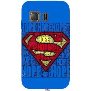 Snooky Printed 1014,Hope Super Man Mobile Back Cover of Samsung Galaxy Young 2 - Multi
