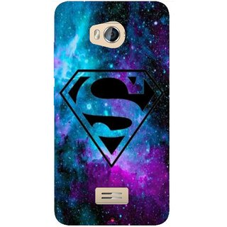 Snooky Printed 1099,Superman Fondos Mobile Back Cover of Micromax Bolt Q336 - Multi