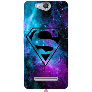 Snooky Printed 1099,Superman Fondos Mobile Back Cover of Micromax Bolt Q392 - Multi
