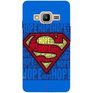 Snooky Printed 1014,Hope Super Man Mobile Back Cover of Samsung Z2 - Multi