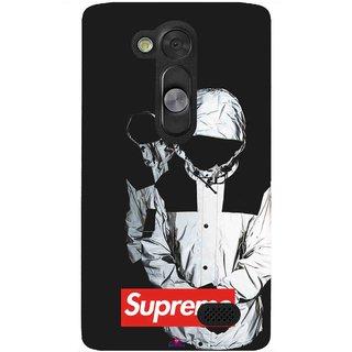 Snooky Printed 1084,Sad Supreme Mobile Back Cover of LG L Fino - Multi