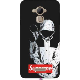 Snooky Printed 1084,Sad Supreme Mobile Back Cover of Coolpad Note 3 Plus - Multi