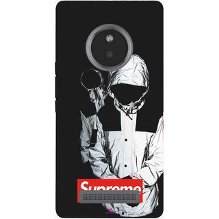 Snooky Printed 1084,Sad Supreme Mobile Back Cover of Micromax Yu Yunique - Multi