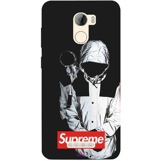 Snooky Printed 1084,Sad Supreme Mobile Back Cover of Gionee A1 Lite - Multi