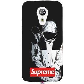 Snooky Printed 1084,Sad Supreme Mobile Back Cover of Moto G2 - Multi