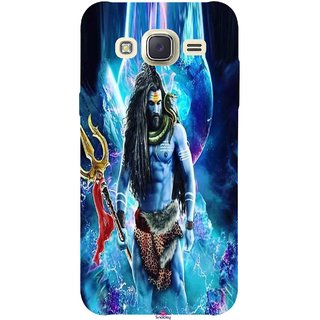 Snooky Printed 1042,Lord Shiva Rudra Mobile Back Cover of Samsung Galaxy J5 - Multi