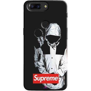 Snooky Printed 1084,Sad Supreme Mobile Back Cover of OnePlus 5T - Multi