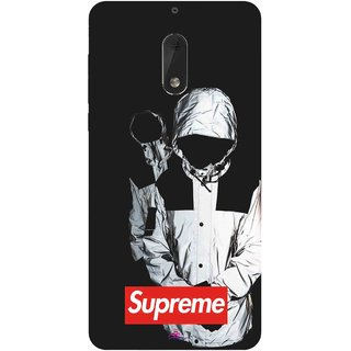 Snooky Printed 1084,Sad Supreme Mobile Back Cover of Nokia 6 - Multi
