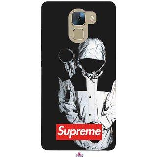 Snooky Printed 1084,Sad Supreme Mobile Back Cover of Huawei Honor 7 - Multi