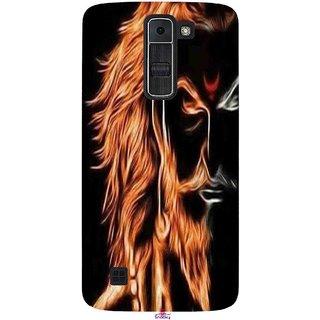 Snooky Printed 1086,shivaji maharaj image 3d Mobile Back Cover of LG K7 - Multi