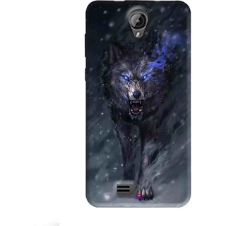 Snooky Printed 1122,Wolf Spirit Animal Mobile Back Cover of Swipe Elite Koncept Plus - Multi