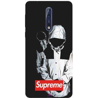 Snooky Printed 1084,Sad Supreme Mobile Back Cover of Nokia 9 - Multi