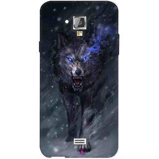 Snooky Printed 1122,Wolf Spirit Animal Mobile Back Cover of Swipe Elite 2 Plus - Multi
