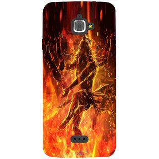 Snooky Printed 1043,Lord Shiva Mobile Back Cover of InFocus M350 - Multi