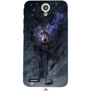 Snooky Printed 1122,Wolf Spirit Animal Mobile Back Cover of InFocus M260 - Multi