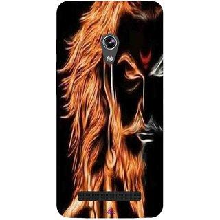 Snooky Printed 1086,shivaji maharaj image 3d Mobile Back Cover of Asus Zenfone 5 - Multi