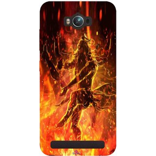 Snooky Printed 1043,Lord Shiva Mobile Back Cover of Asus Zenfone Max - Multi