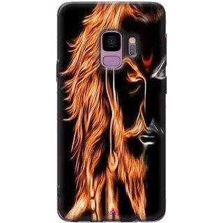 Snooky Printed 1086,shivaji maharaj image 3d Mobile Back Cover of Samsung Galaxy S9 - Multi