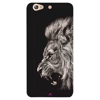 Snooky Printed 1079,Roaring lion Mobile Back Cover of Gionee Marathon M5 - Multi