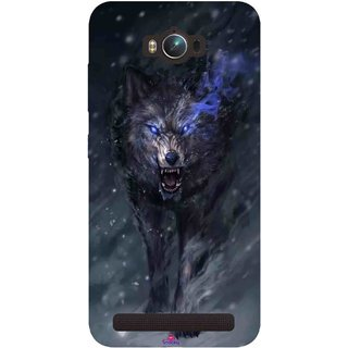 Snooky Printed 1122,Wolf Spirit Animal Mobile Back Cover of Asus Zenfone Max - Multi