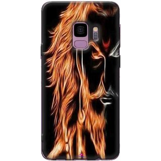 Snooky Printed 1086,shivaji maharaj image 3d Mobile Back Cover of Samsung Galaxy S9 Plus - Multi