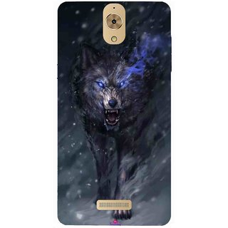 Snooky Printed 1122,Wolf Spirit Animal Mobile Back Cover of Coolpad Mega 2.5D - Multi