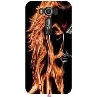 Snooky Printed 1086,shivaji maharaj image 3d Mobile Back Cover of Asus Zenfone 2 Laser ZE500KL - Multi