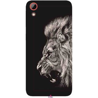 Snooky Printed 1079,Roaring lion Mobile Back Cover of HTC Desire 628 - Multi