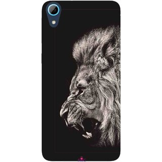 Snooky Printed 1079,Roaring lion Mobile Back Cover of HTC Desire 826 - Multi