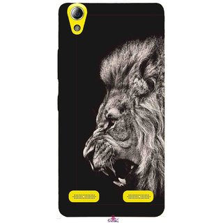 Snooky Printed 1079,Roaring lion Mobile Back Cover of Lenovo A6000 Plus - Multi