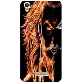 Snooky Printed 1086,shivaji maharaj image 3d Mobile Back Cover of Lava V1 Pixel - Multi