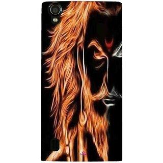 Snooky Printed 1086,shivaji maharaj image 3d Mobile Back Cover of Vivo Y15 - Multi
