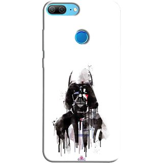 Snooky Printed 1096,star wars white Mobile Back Cover of Huawei Honor 9 Lite - Multi