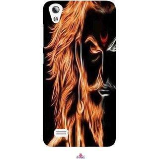 Snooky Printed 1086,shivaji maharaj image 3d Mobile Back Cover of Vivo Y17 - Multi